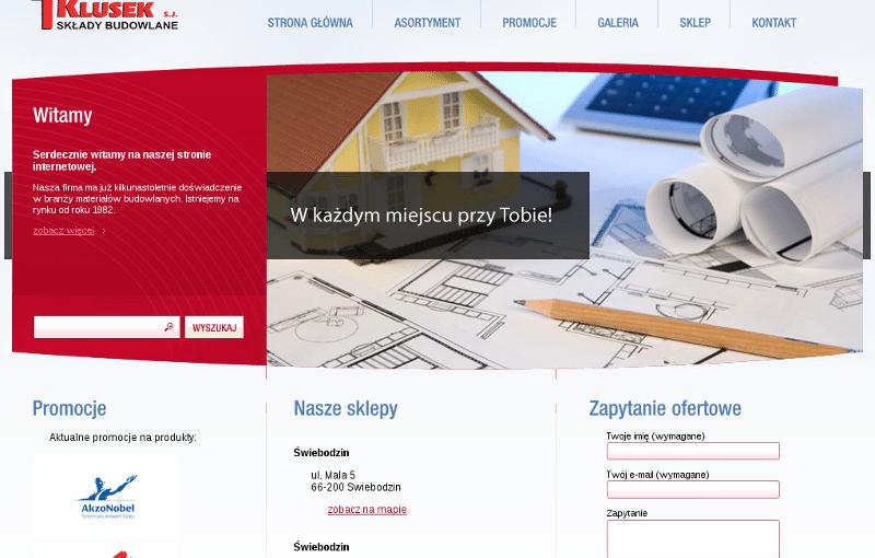 Wordpress motyw - klusek.pl