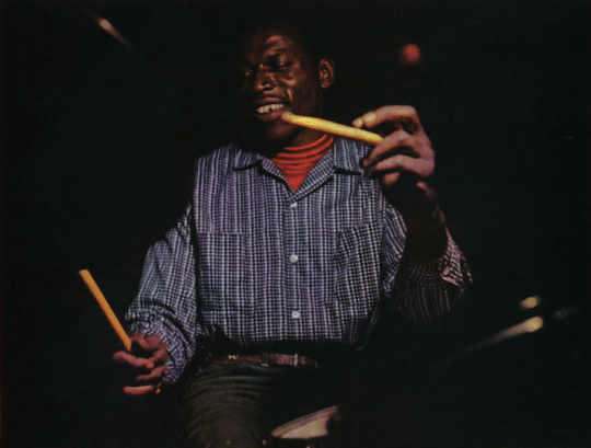 Elvin Jones - perkusista jazzowy